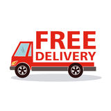 Free delivery Vector Illustration