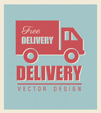 Free delivery Royalty Free Stock Photos