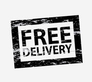Free delivery seal royalty free illustration