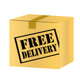 Free delivery shipping Royalty Free Stock Photo