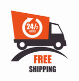Free delivery and shipping Royalty Free Stock Image