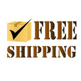 Free delivery shipping Royalty Free Stock Photos