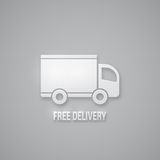 Free delivery sign Stock Photos