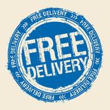 Free delivery stamp. Stock Photo