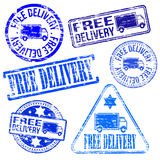 Free Delivery Stamps Stock Images