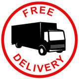 Free delivery symbol Stock Image