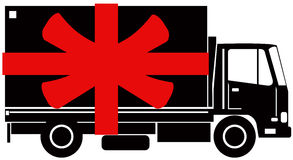 Free delivery symbol Royalty Free Stock Photography