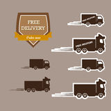 Free delivery symbol Royalty Free Stock Image