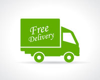 Free delivery truck icon Royalty Free Stock Photo