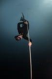 Free diver Royalty Free Stock Photos