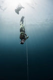 Free diver Royalty Free Stock Images