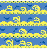 Free Dolphin Pattern Stock Photography