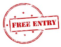 Free entry royalty free illustration
