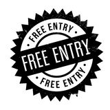 Free entry stamp Royalty Free Stock Photos
