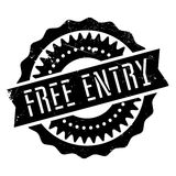Free entry stamp royalty free illustration