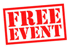 FREE EVENT Stock Image