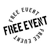 Free Event rubber stamp Royalty Free Stock Image
