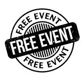 Free Event rubber stamp Stock Image