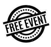 Free Event rubber stamp Stock Photography