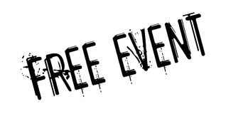 Free Event rubber stamp Stock Photo