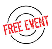 Free Event rubber stamp Royalty Free Stock Photography