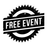 Free event stamp Royalty Free Stock Photography