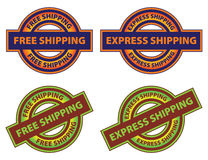 Free Express Shipping Icon Stock Image