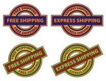 Free Express Shipping Icon Stock Image
