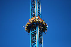 Free Fall Amusement Royalty Free Stock Photos