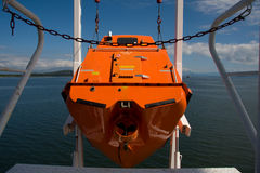 Free fall life boat Royalty Free Stock Photography