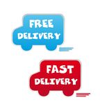 Free and fast delivery Stock Image