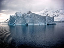 Free floating iceberg Royalty Free Stock Images