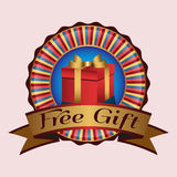 Free gift Royalty Free Stock Image