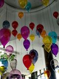 Colourfull Glass Baloons royalty free stock photos