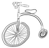 Free Hand Sketch of bicycle Vector Stock Photos