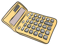 Free Hand Sketch of calculator Vector Stock Photos