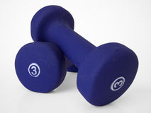Free Hand Weights 2 Royalty Free Stock Images