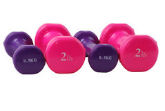 Free Hand Weights Dumbbells Royalty Free Stock Photo