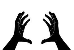Free hands vector Royalty Free Stock Image
