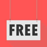 Free Hanging sign Stock Photo