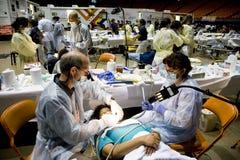 Free health and dental clinic Stock Photos
