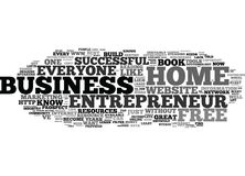Free Home Business Entrepreneur Tools And Resources Text Background  Word Cloud Concept Royalty Free Stock Photo