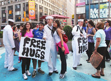 Free hugs. Royalty Free Stock Photo