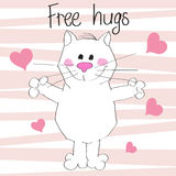 Free hugs Stock Images