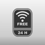 Free internet 24 hours Stock Images