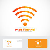 Free internet wifi logo wireless icon Stock Image