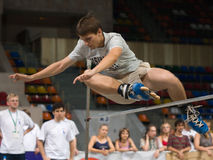 Free Jump Competition Stock Photos