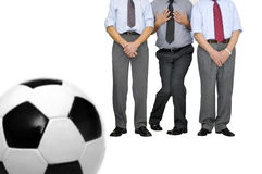 Free kick Stock Images
