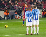 Free kick Stock Photos