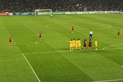 Free-kick Stock Photo
